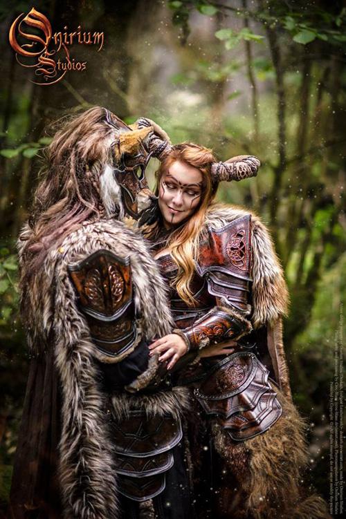 Tribal Wallpaper 3d Celtic Armor Fantasy Photoshoot