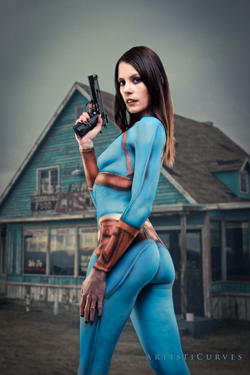Girl Kill Boy Wallpaper Fallout 4 Body Paint