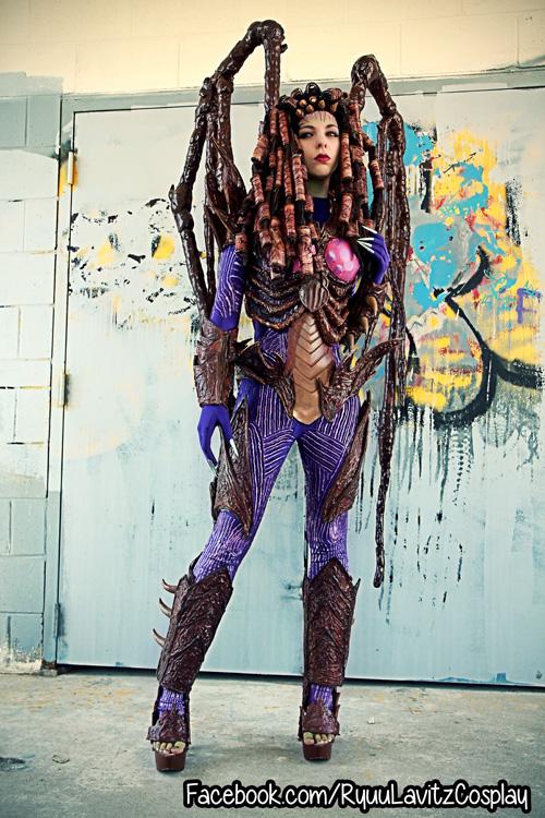 Wallpaper Girl Nerd Infested Kerrigan From Starcraft Cosplay