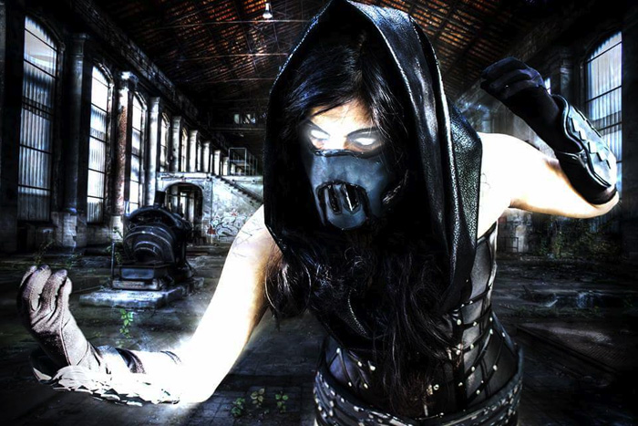 Wallpaper Girl Nerd Genderbent Noob Saibot From Mortal Kombat Cosplay