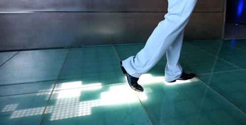 Sensacell Interactive Floor Leaves Your Digital