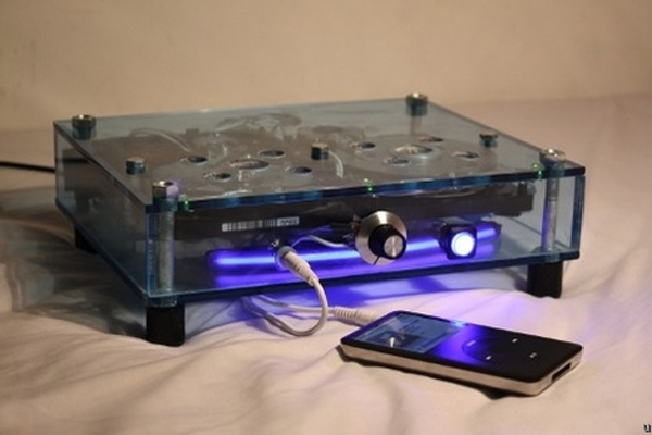 Speakers Made From Hard Drives