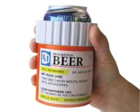 Beer Prescription Can Holder is Perfect for the Party Geek ...