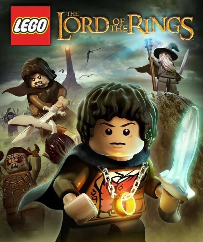 Lego LOTR LEGO Lord of the Rings Trailer   One Blocky Ring To Rule Them All