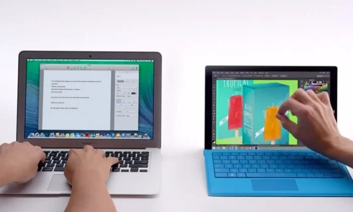 New Surface Pro 3 Adverts Target Apple MacBook Laptops (video)