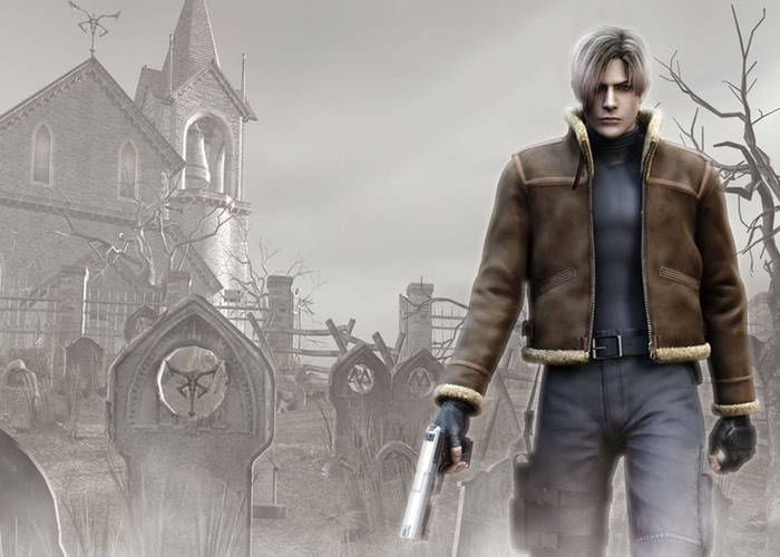Leon S Kennedy Hd Wallpaper Resident Evil 4 1080p Edition Now Available To Pre Order