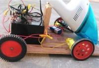 DIY Robot Vacuum Cleaner Built Using Arduino (video ...
