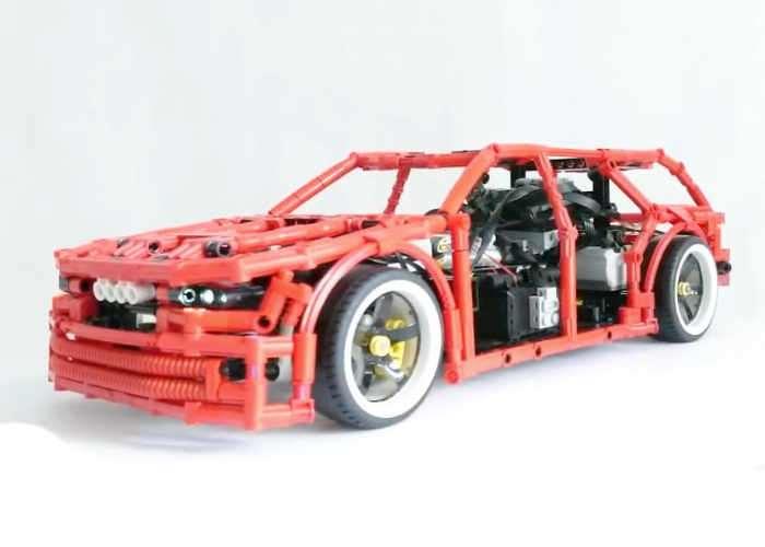 LEGO Technic Drift Wagon (video) - Geeky Gadgets