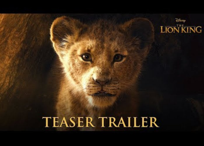 the lion king official trailer 2019 download