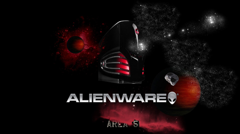 Alienware Desktop HD Wallpaper Red