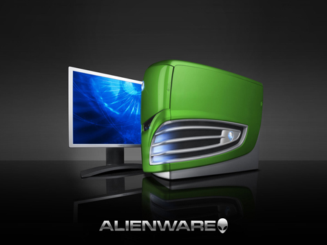 Alienware Desktop PC HD Wallpaper