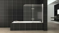 BATH TUB GLASS SHOWER SCREENS PANELS | Geelong Splashbacks