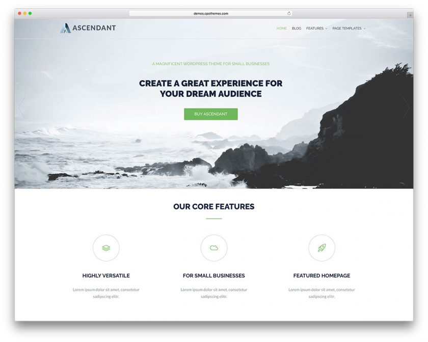 Top 13 best free corporate/company Wordpress themes for Startups and - best free wordpress templates
