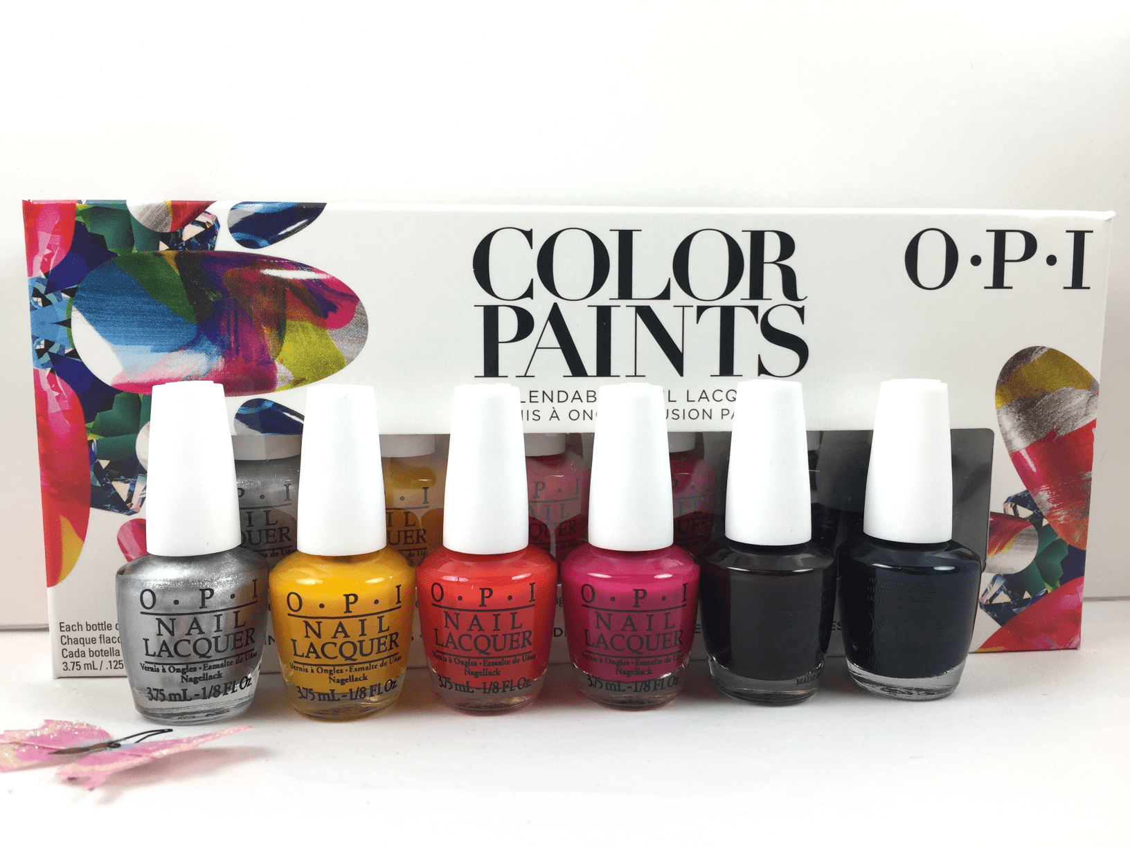 Opi Nail Lacquer Mini Set Color Paints