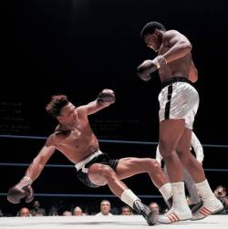 Ali vs Williams, Ali Knocking Down Williams
