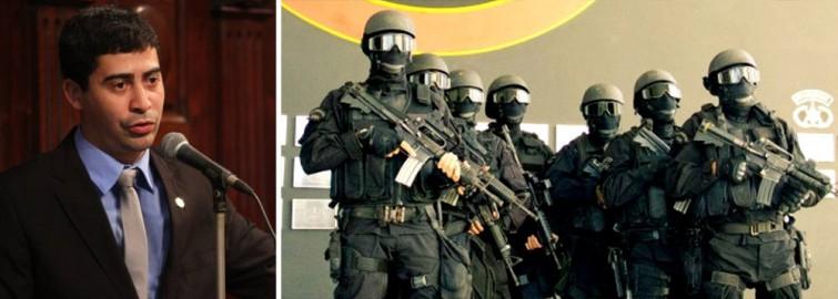 POLICIAL-ARMA
