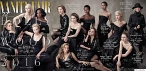Capa de edição especial da Vanity Fair tem apenas mulheres