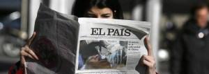 El Pais, maior jornal da Espanha, prepara o fim das edições em papel