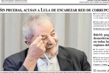 Imprensa internacional destaca falta de provas na denúncia contra Lula