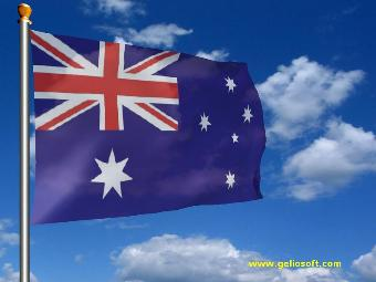 Animated 3d Wallpapers For Windows 7 Free Download Full Version Australia Screensaver Animated Australian Flag Free