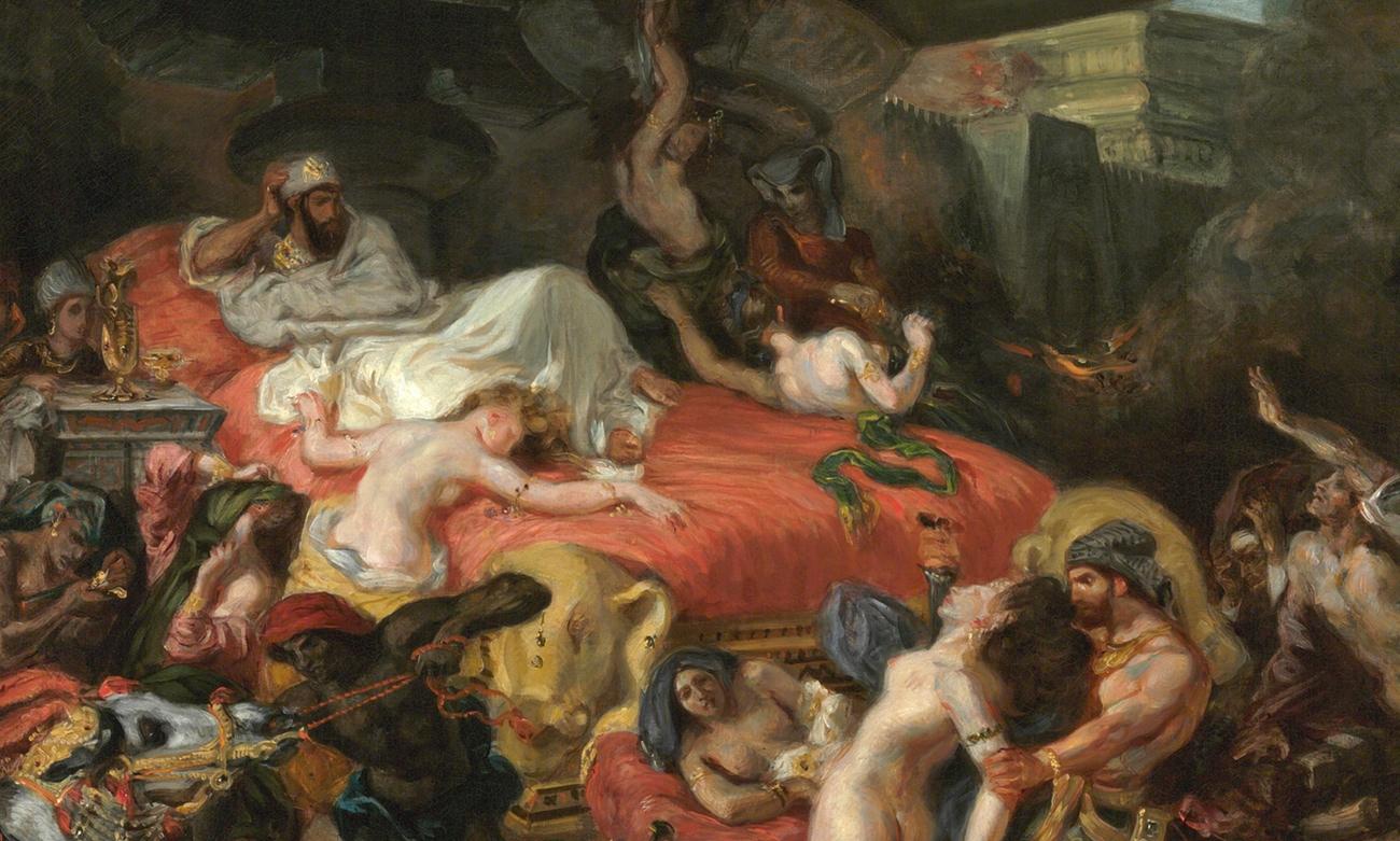 Delacroix And The Orientalism Gelonch Viladegut Collection