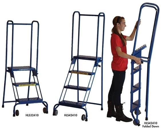 Stock Picking Ladders Gemba Industrial
