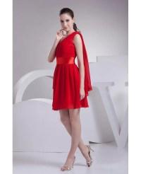 Short Red Chiffon Bridesmaid Dresses | www.pixshark.com ...