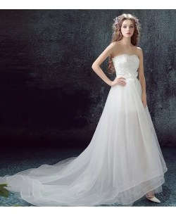 Corner Low Heart Tulle Wedding Dress Train Low Wedding Dresses Nyc Low Wedding Dresses Atlanta Lace 2017 Flowy Tulle Low Wedding Dresses