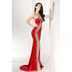 Small Crop Of Red Prom Dress