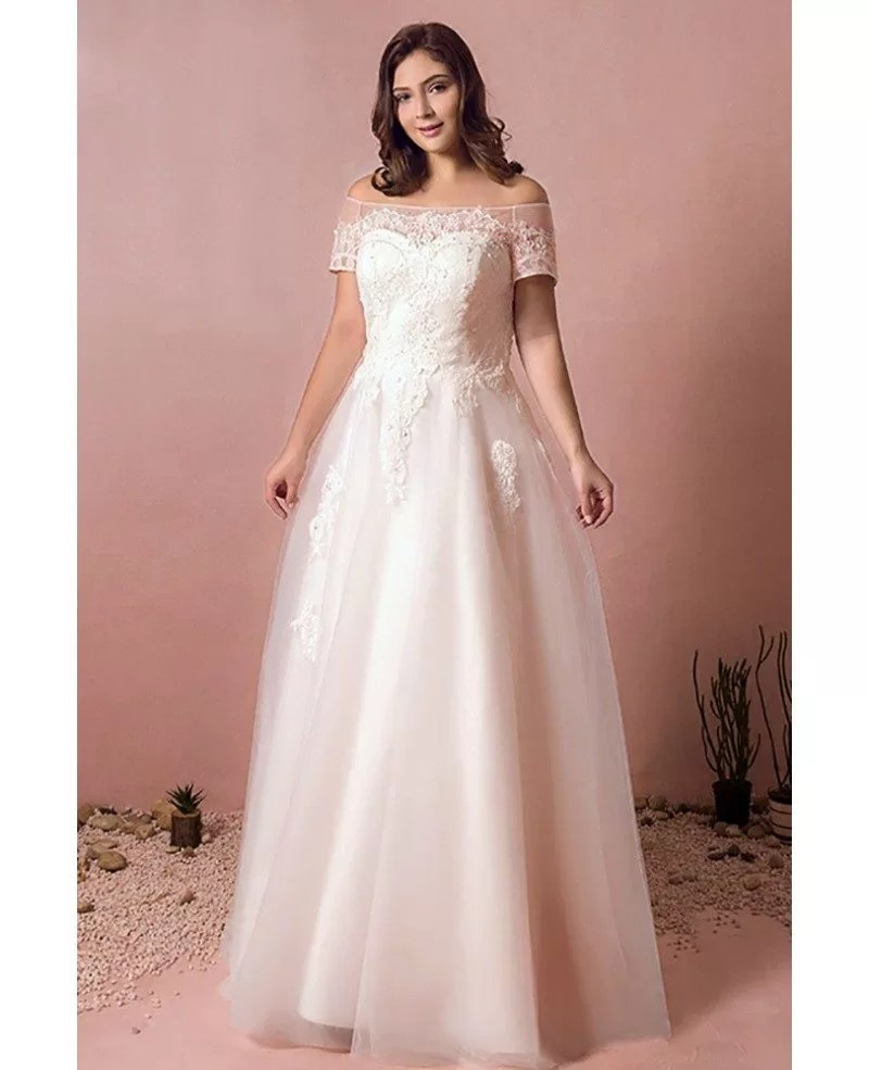 Fullsize Of Off Shoulder Wedding Dress
