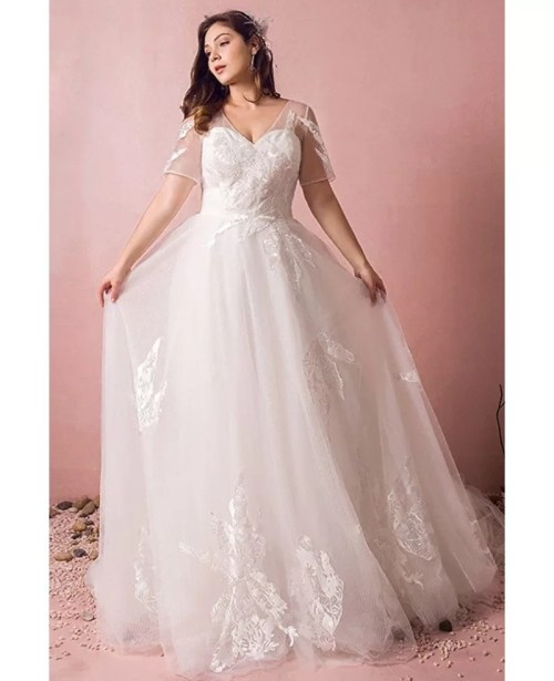 Medium Of Cheap Plus Size Wedding Dresses