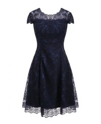 Burgundy A Line High-end Lace Party Wedding Guest Dress ...