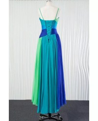 Different Blue Chiffon Bridesmaid Dress for Summer Beach ...