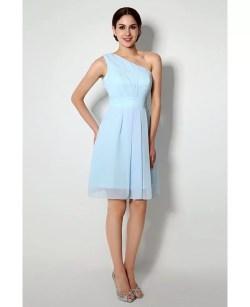 Grand One Shoulder Short Bridesmaid Dress Light Sky Blue One Shoulder Short Bridesmaid Dress Light Sky Blue Short Bridesmaid Dresses Nordstrom Short Bridesmaid Dresses Under 50