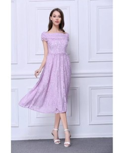 Small Of Tea Length Dress