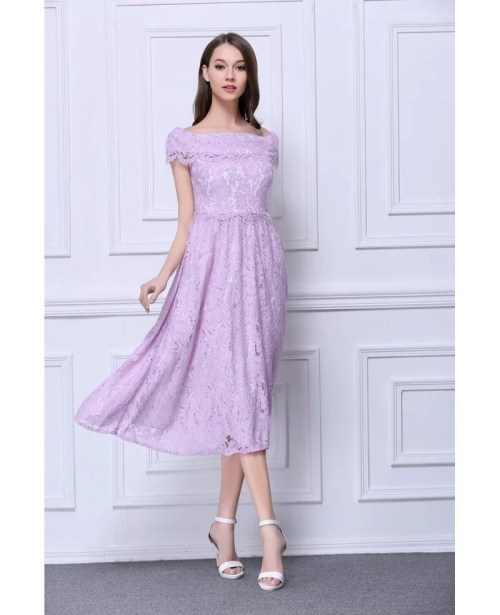 Medium Of Tea Length Dress