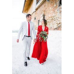 Small Crop Of Winter Wedding Dress
