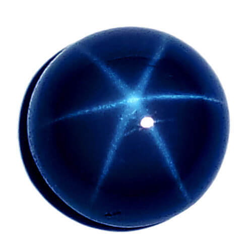 Lab Created  Synthetic Blue Loose Sapphire Stone Lab Grown Man