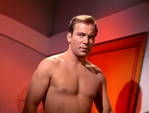 Star Trek Captain James T Kirk William Shatner topless