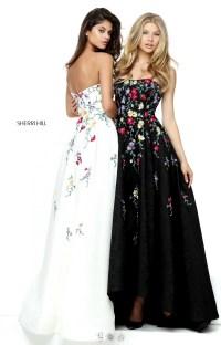 Sherri Hill 50838 - High Low Floral Dress Prom Dress