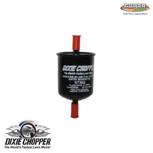 Dixie Chopper Fuel Filter  Water Separator, 97392