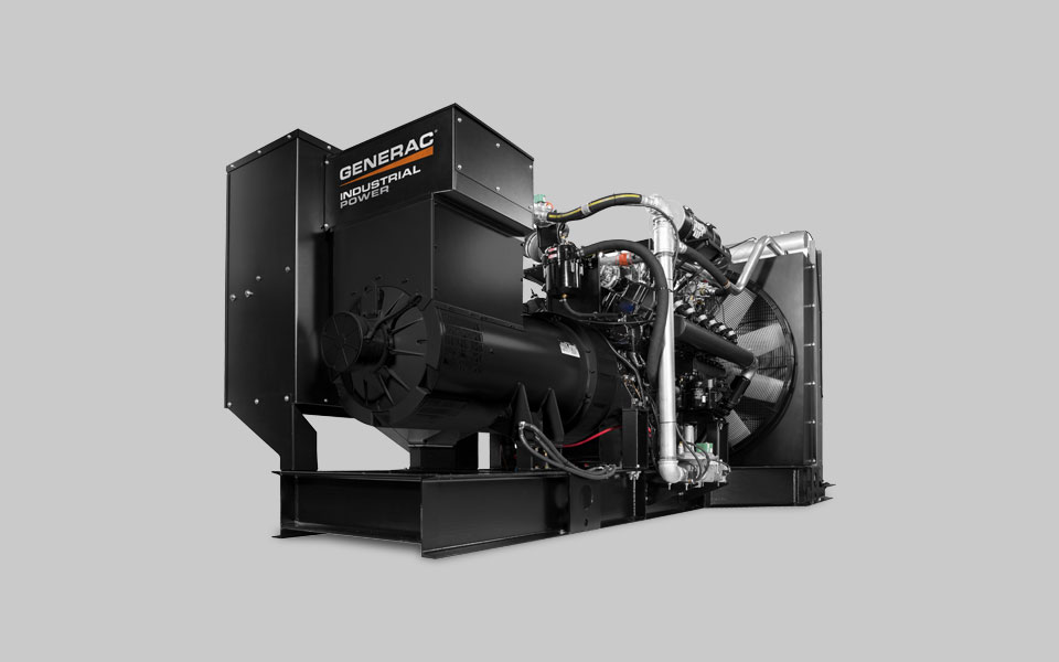 Generac Industrial Power - Products Diesel, Gaseous, Bi-Fuel