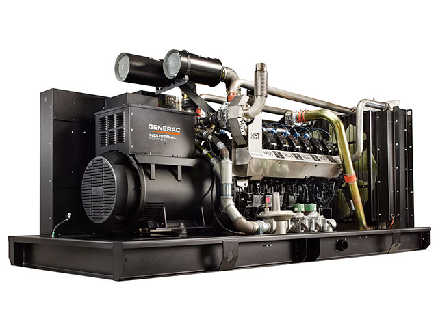Generac Industrial Power - 500 kW Gaseous Generator Generac