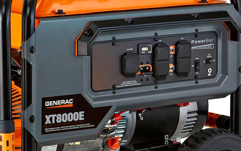 Generac Power Systems - 8000 watt XT Series Portable Generator with