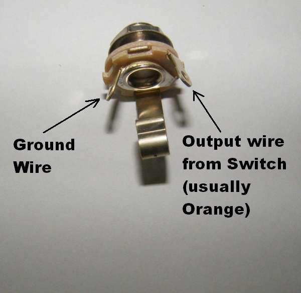 fender input jack wiring