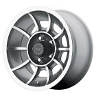 AMERICAN RACING VN47 Vector 15X85 5X45 Anthracite Gray Quantity of 1