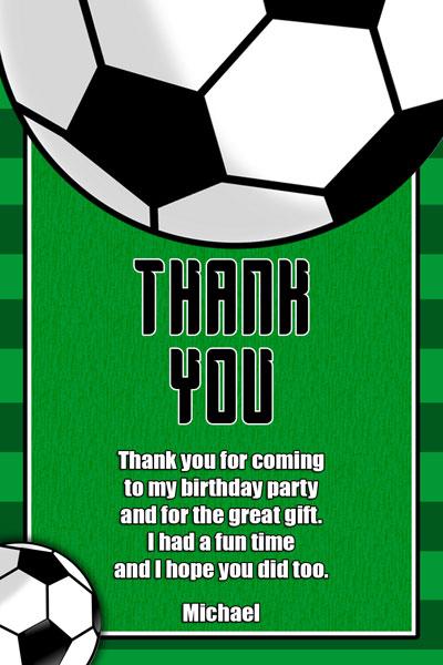 Soccer Invitations - General Prints