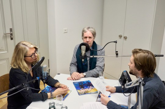 """Wir laden Experten zum Thema """"Generationen"""" zum Gespräch: Pasqualina Perrig-Chiello und François Höpflinger im Generationentalk. - Bild: Paul Durrer"""