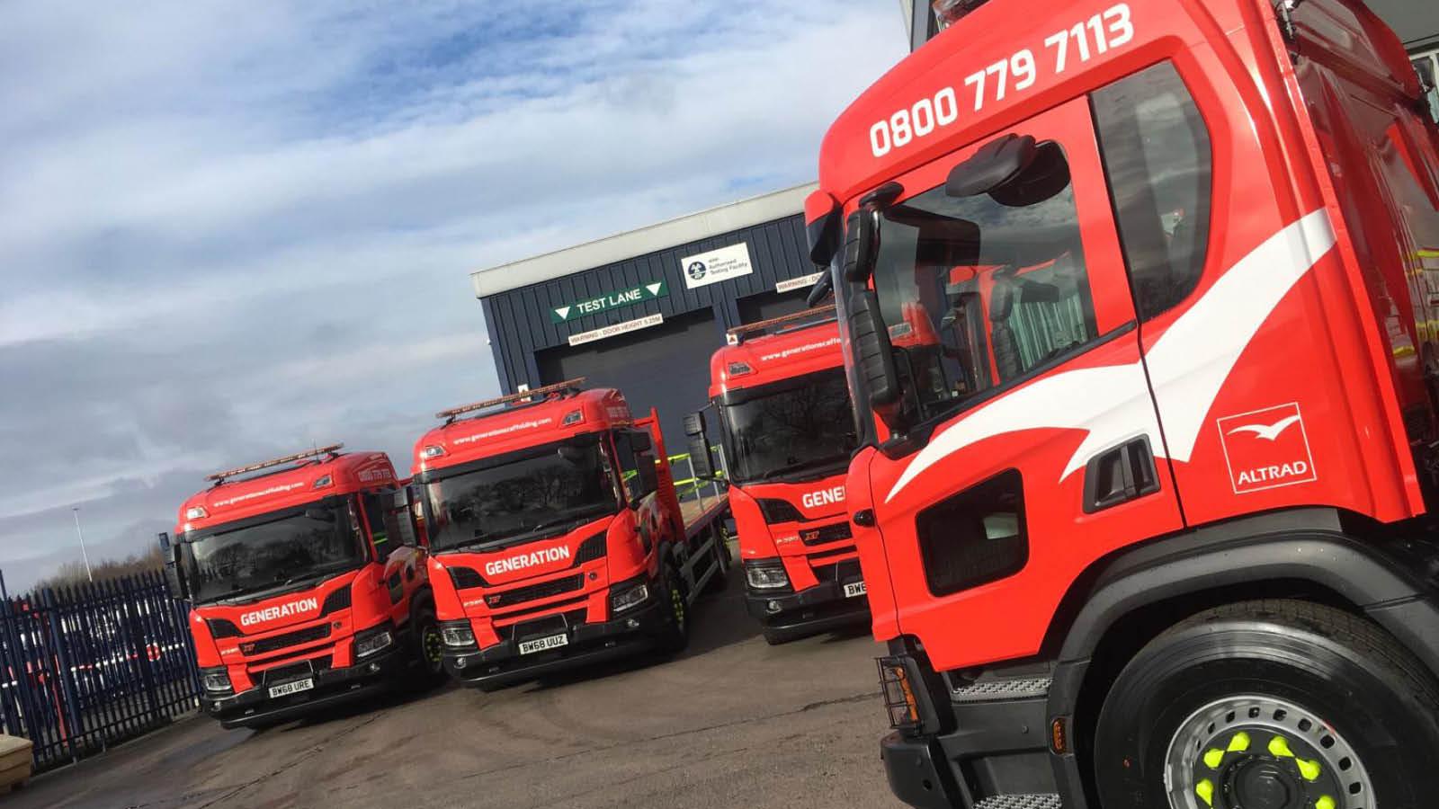 Generation Hire Sale New Xt Rigids Trucks Generation Uk