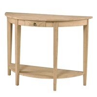 Half Round Console Table | Generations Home Furnishings